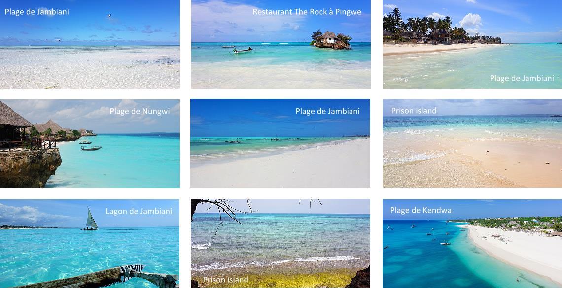 Les plus belles plages de Zanzibar