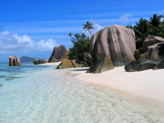 Photo de l'Anse Source d'Argent - Seychelles - Océan Indien