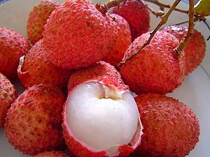 Litchis, Lychees