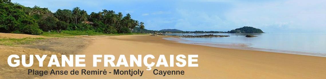 Plage Anse de Remiré à Cayenne Guyane française