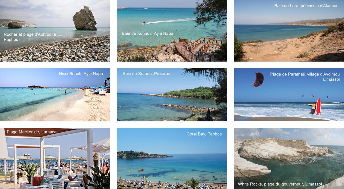 Plus belles plages de Chypre