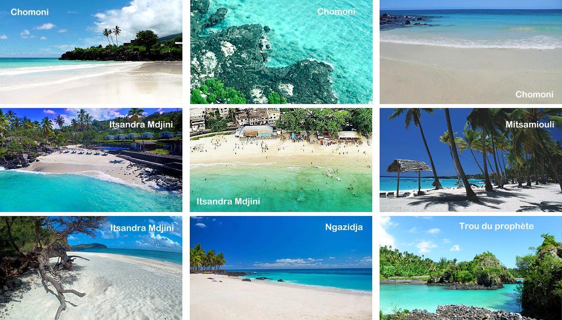 Plus belles plages des Comores