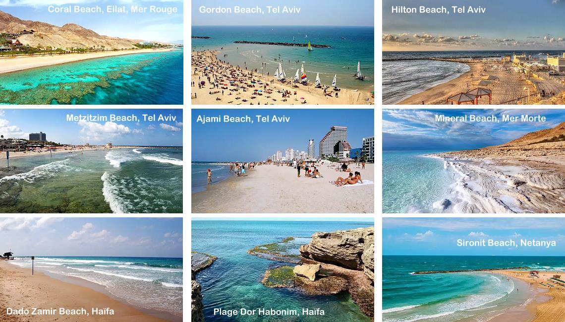 Les plus belles plages d'Israël