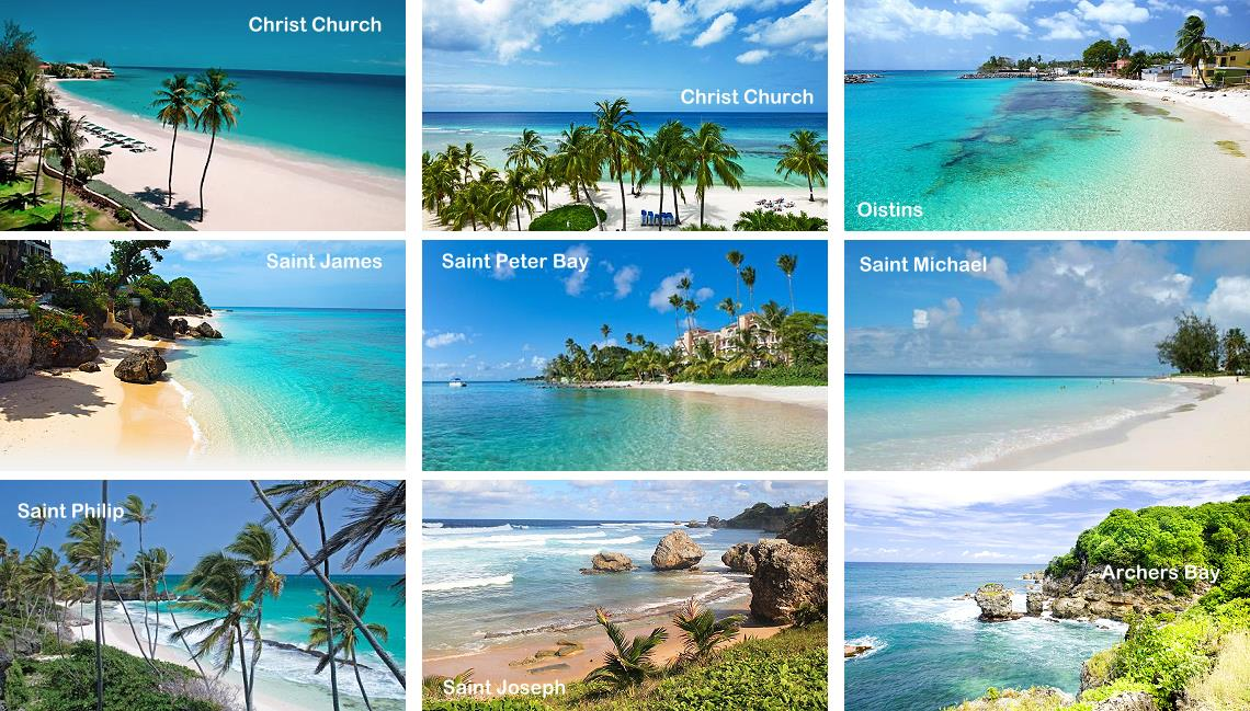 Plus belles plages de la Barbade - Caraïbes