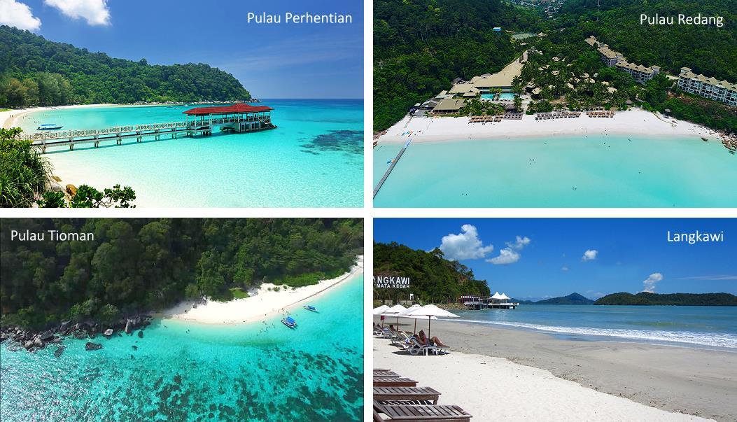 Plus belles plages de Malaisie
