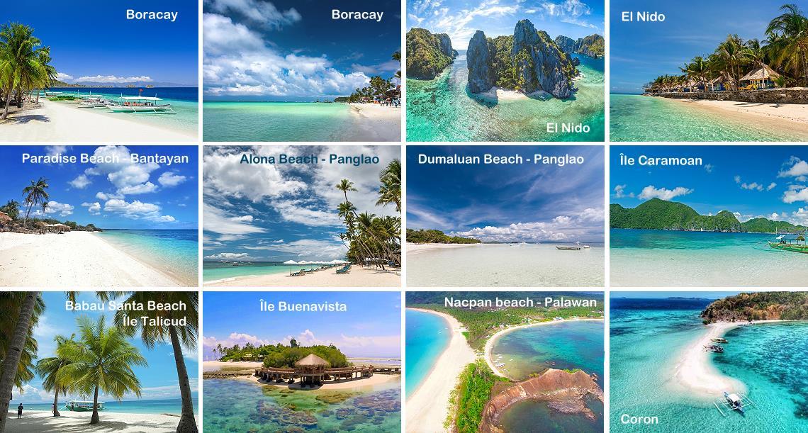 Plus belles plages des Philippines