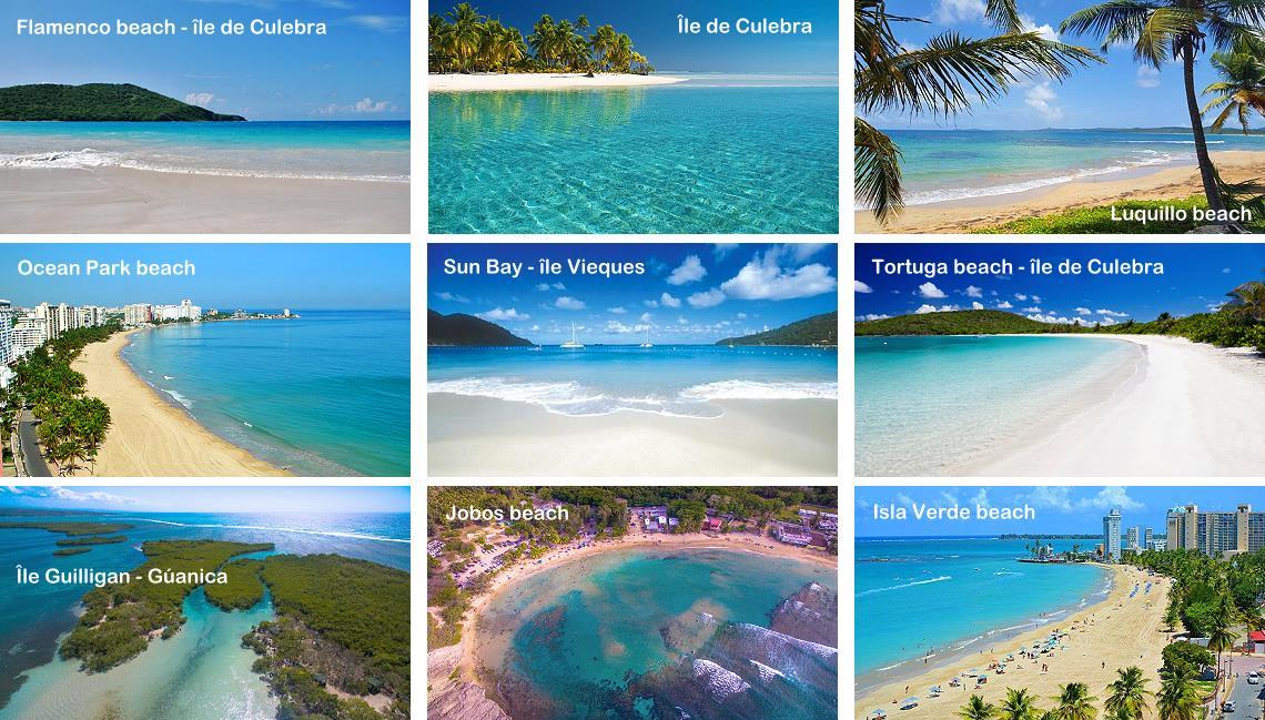 Plus belles plages de Porto Rico