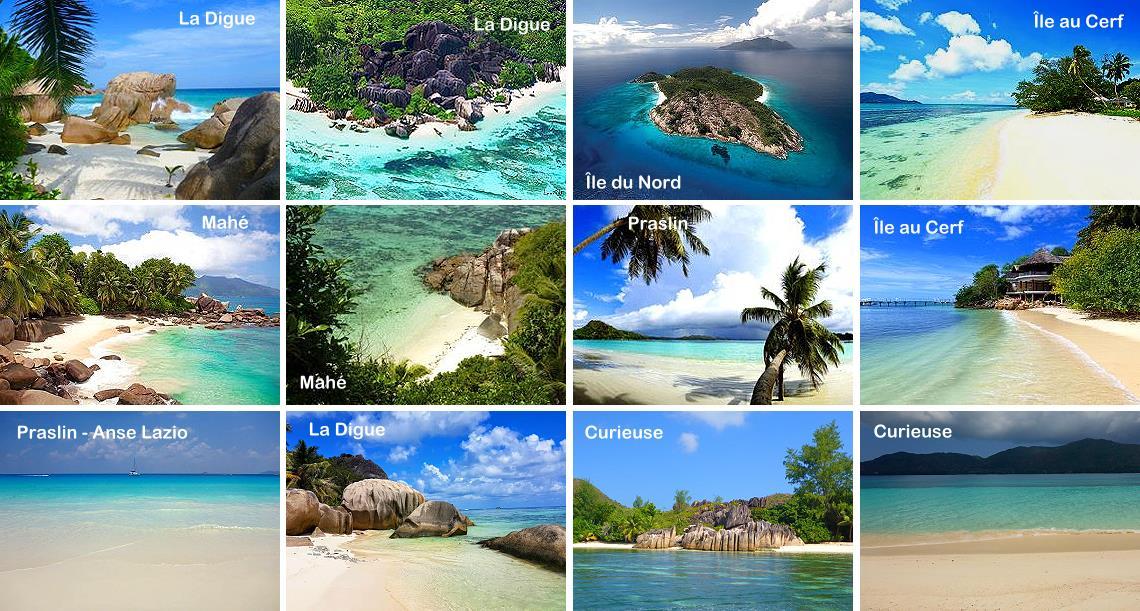 Plus belles plages des Seychelles
