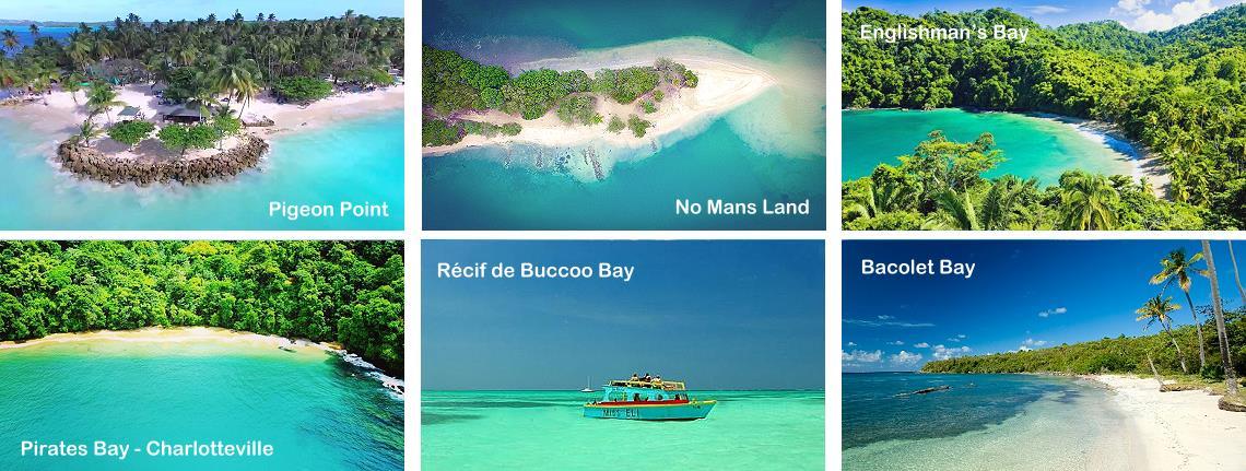 Les plus belles plages de Trinité-et-Tobago