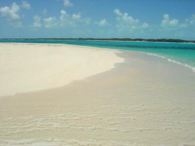 Plages de Plage de Duck Cay, Great Exuma, BAHAMAS