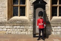 Londres, La tour de Londres et son garde