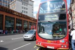 Londres, Bus impérial sur Oxford street