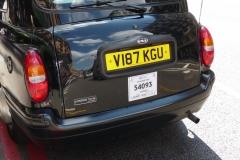 Londres, le taxi, le Cab