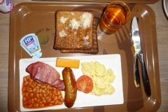Londres, english breakfast petit déjeuner anglais