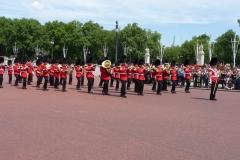 Londres, Buckingham Palace, relève de la gardeLondres, Buckingham Palace, relève de la garde