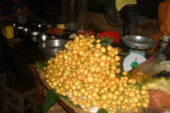 Cambodge, marché, fruits