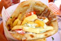 Crête, Sandwich, Gyros Pita
