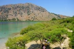 Crête, Lac de Kournas