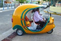 Cuba, Varadero, Coco taxi