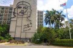 Cuba, Place de la révolution, Hasta la victoria siempre