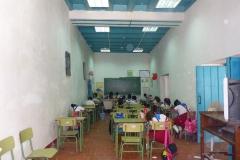 Cuba, La Havane, école