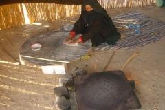 Hurghada, Egypte, désert, femme