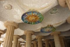 Espagne, Barcelone, parc Güell , Gaudí