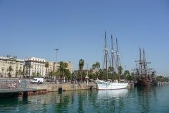 Espagne, Barcelone, port