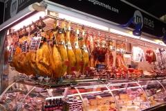 Espagne, Barcelone, marché, Saint joseph, Bellotas, jambons