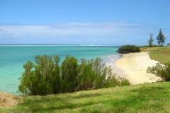 Ile Maurice, plage, Grande Rivière noire, lagon