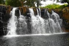 Ile Maurice, Rochester Falls, cascade, plonger