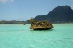 Ile Maurice, île aux bénitiers, lagon mauricien, bleu turquoise