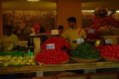 Ile Maurice, marché, légumes