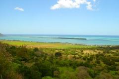 Ile Maurice, île aux bénitiers, lagon