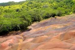 Ile Maurice, Chamarel, terres aux 7 couleurs