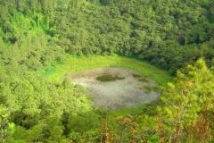 Ile Maurice, Curepipe, Trou aux Cerfs, volcan