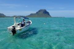 Ile Maurice, lagon île aux bénitiers