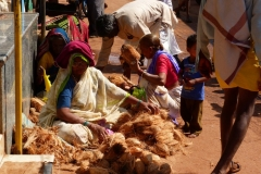 Badami, Inde, marché