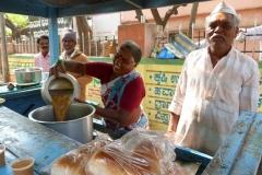 Bijapur, Inde, marché