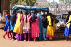 Bijapur, Inde, sari
