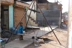 Bijapur, Inde, enfant