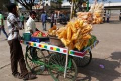 Bijapur, Inde, vendeur