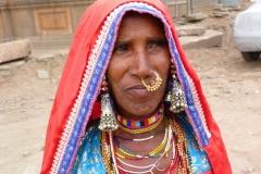Bijapur, Inde, femme