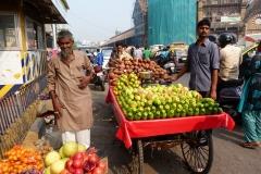 Bombay, Mumbai, Inde, vendeur