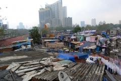 Bombay, Mumbai, Inde, bidonville