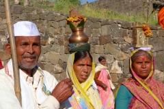 Ellora, Inde, famille