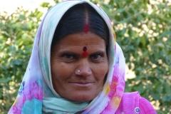 Ellora, Inde, femme