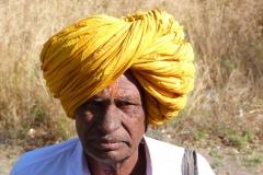 Ellora, Inde, homme