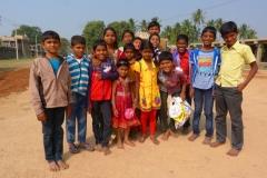 Hampi, Inde, enfant