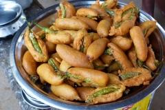 Hampi, Inde, beignets